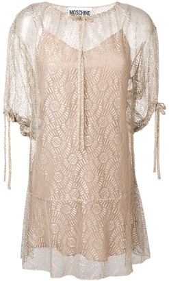 Moschino Drawstring Neck Dress