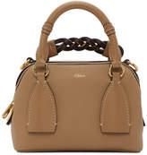 Chloé Brown Small Daria Bag