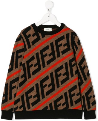 Fendi knitted FF sweater