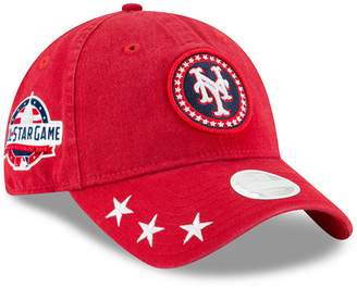 New Era Women's Red New York Mets 2018 MLB All-Star Workout 9TWENTY Adjustable Hat
