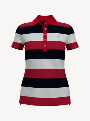 Tommy Hilfiger Essential Rugby Stripe Polo