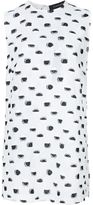 Thakoon woven polka dot tank - women - Silk/Cotton/Polyester/Viscose - 4