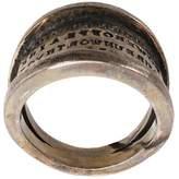 Tobias Wistisen 'Script Plate' ring
