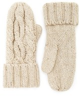 Forever 21 FOREVER 21+ Cable Knit Mittens