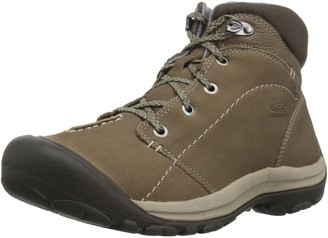 Keen Women's kaci Winter mid wp-w Hiking Boot Brindle/Inca Gold 5.5 M US