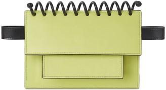Atribut Leather Belt Bag - Brave - Lime