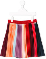Paul Smith striped pleated skirt - kids - polyester - 6 yrs