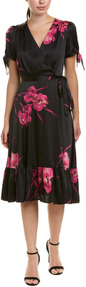 Betsey Johnson Faux Wrap Dress