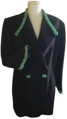 Ted Lapidus Black Wool Jacket for Women Vintage