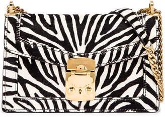 Miu Miu Zebra Bag in White & Black | FWRD