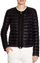 Moncler Bonite Bow-Front Down Jacket