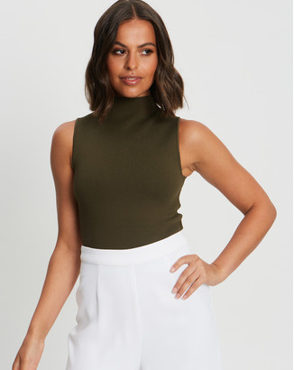 Tussah - Women's Sleeveless Tops - Layla Knit Top - Size One Size, 14 at The Iconic