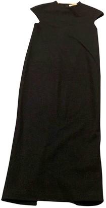 Isa Arfen Black Wool Dress for Women