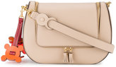 Anya Hindmarch Vere Saddle laser-cut shoulder bag - women - Leather - One Size