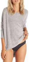 Billabong Women's All Things Knit Slouch Sleeve Top