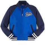 Ralph Lauren Cotton Mesh Baseball Jacket