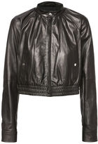 Diesel Black Gold DieselTM Leather jackets BGRBM - Black - 36