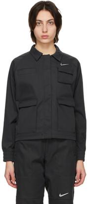 Nike Black Sportswear Swoosh Jacket