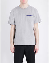 Sacai Horrowshow Cotton-jersey T-shirt
