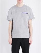 Sacai Horrowshow Cotton-jersey T-shirt