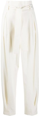 RED Valentino Belted Tapered Trousers