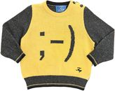 Fay Wink Smiley Wool & Cashmere Sweater