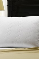 Cotton Quilted Gel Pillow - White