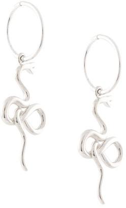 MEADOWLARK Medusa endless hoop earrings