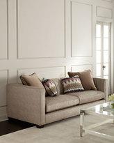 Bernhardt Hank Channel-Tufted Sofa