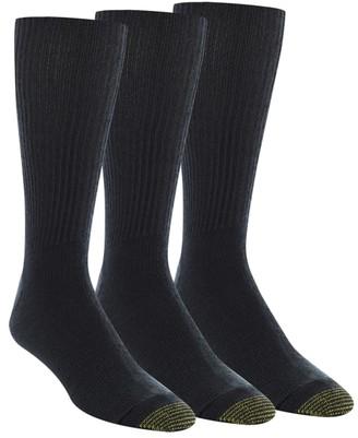 Gold Toe Fluffies Big & Tall Socks 3-Pack