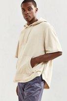 Urban Outfitters Scoop Short Sleeve Hoodie Sweatshirt
