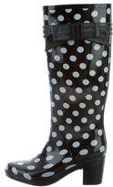Kate Spade Polka Dot Rain Boots