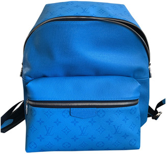 Louis Vuitton Discovery Turquoise Leather Bags
