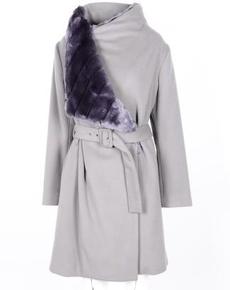 Malloni Women's Taupe Coat