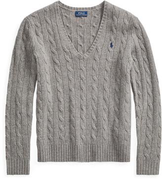 Ralph Lauren Cable Wool-Cashmere Jumper