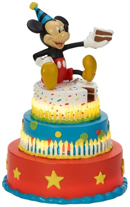 Precious Moments Disney Mickeys Birthday Wishes LED Figurine