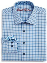 Robert Graham Boys' Windowpane Dress Shirt - Sizes S-XL