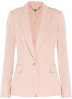 Stella McCartney Ingrid Silk Blazer - Blush