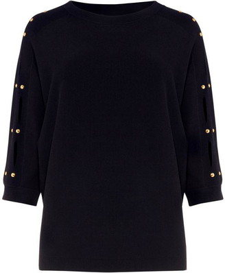 Phase Eight Sylvia Slash Knit Jumper