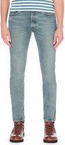 Levi's 501 customised tapered jeans
