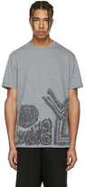 Versace Grey Baroque T-Shirt