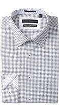 Report Collection Paisley Slim Fit Stretch Dress Shirt