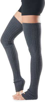 Toesox Thigh-High Rib-Knit Leg Warmers