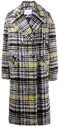 Lala Berlin Checked Tweed Coat