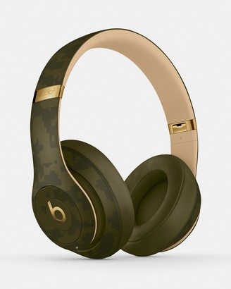 Beats by Dr. Dre Green Headphones - Beats Studio3 Wireless Headphones - Beats Camo Collection - Size One Size at The Iconic