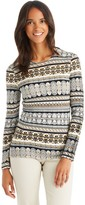 J.Mclaughlin Melanie Sweater in Crete Brocade