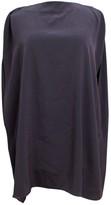Maison Margiela Purple Silk Dress for Women