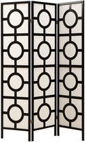 Monarch Specialties Circle 3-Panel Folding Screen