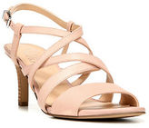 Franco Sarto Olian Leather Slingback Sandals