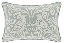 """J Queen New York Garden View 18"""" L x 18"""" W Boudoir Decorative Throw Pillow Bedding"""